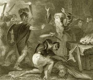 Our pantheon of gods can beat up your pantheon of gods!