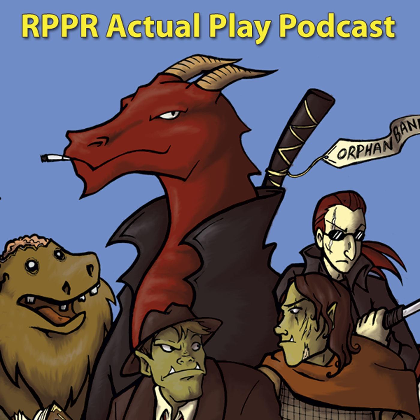 RPPR Actual Play logo